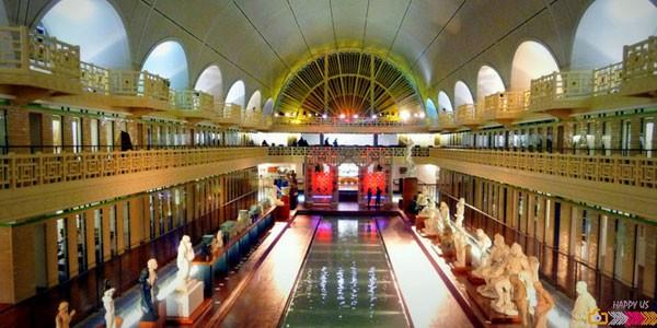 Visiter et animations insolites en 2cv lille tradi roubaix - Musee roubaix la piscine ...